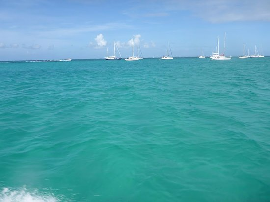 Oyster Pond, St Martin / St Maarten: Beautiful St Maarten waters