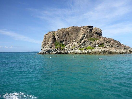 Oyster Pond, St. Martin/St. Maarten: Snorkeling spot - Creole Rock