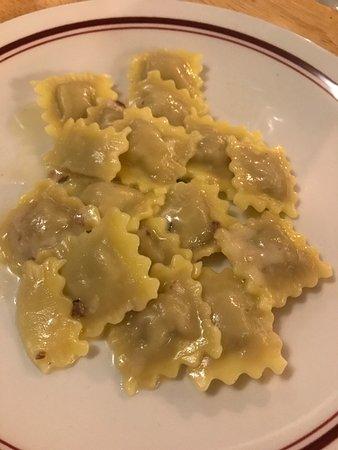 Grazzano Badoglio, Italy: tortellini