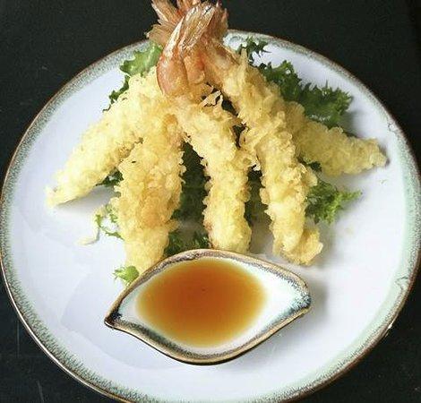 Xin Sushi: gamberi fritti