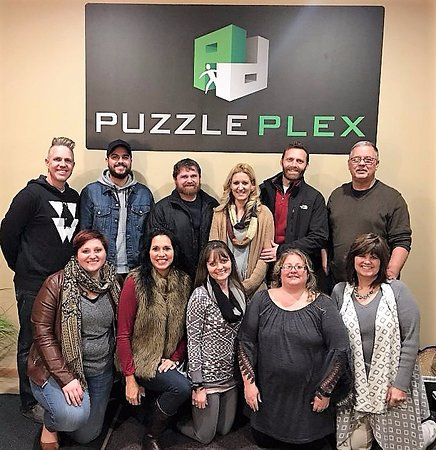 Derby, KS: Our Christmas Fun at Puzzle Plex