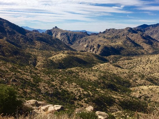 Mt. Lemmon Scenic Byway: A beautiful vista along the way
