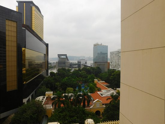 Grand Lapa Macau: The hotel's resort as seen from our room