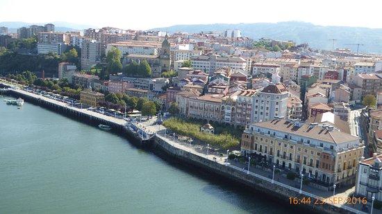 Gran Hotel Puente Colgante: Von oben von der Hängefährenbrücke aus