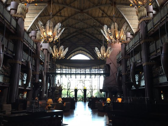 Resort Lobby-Jambo House, Animal Kingdom Lodge