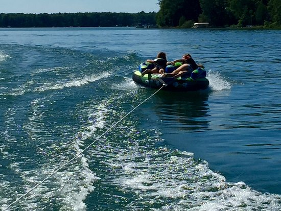 Interlochen, MI: Great lake access for swimming, tubing, skiing, or boating, too!