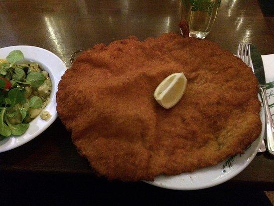 BIG portions, tasty food!