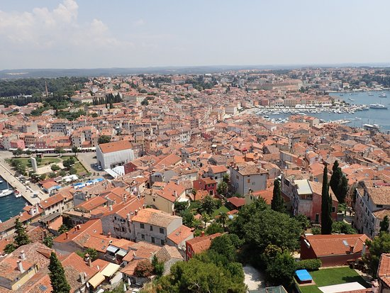 Church of St. Euphemia: View from the tower