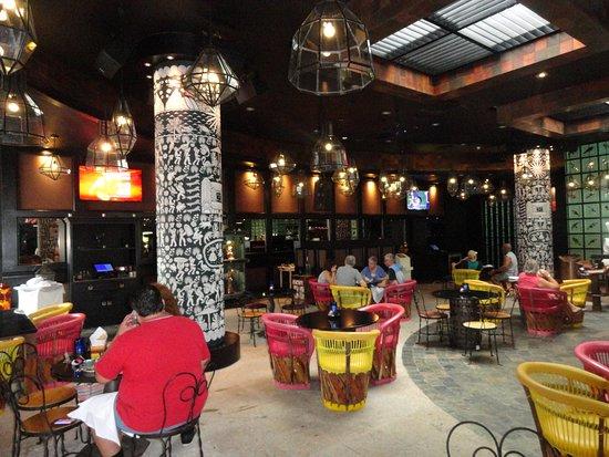 La Cantina Sports Bar Interior - Picture of La Cantina, Nuevo ...