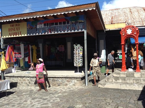 old roseau market it was a slave market originally picture of