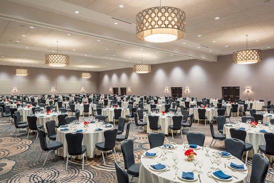 Sheraton Vancouver Airport Hotel: 10,000 square foot Britannia Ballroom
