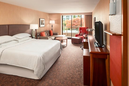 Sheraton Vancouver Airport Hotel: Junior Suite (North Facing)