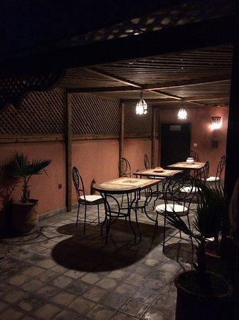 Riad Sharmance: Terrace