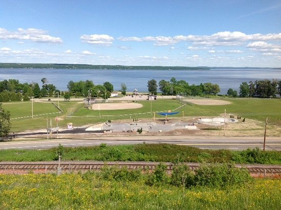 New Liskeard, Canada: Carter Antila Memorial Skatepark and ball fields