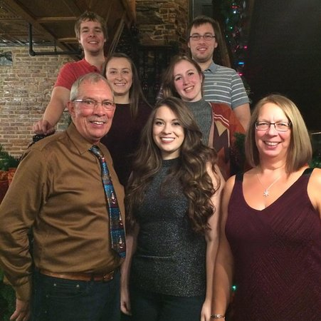Carbonear, Canadá: Family for Christmas Get together