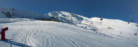 Puy-Saint-Vincent, Francia: Le domaine à 2000m
