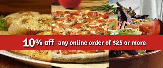 Red Boy Pizza & Restaurant Ignacio: Online ordering!