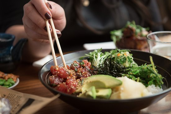 Pacific Catch: Japanese Wasabi rice bowl