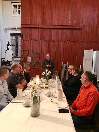Stjordal, Norway: Mat i særegne omgivelser