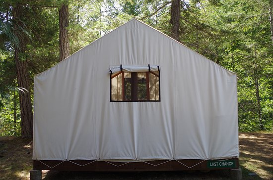 North Bend, Canadá: Glamping Tent exterior