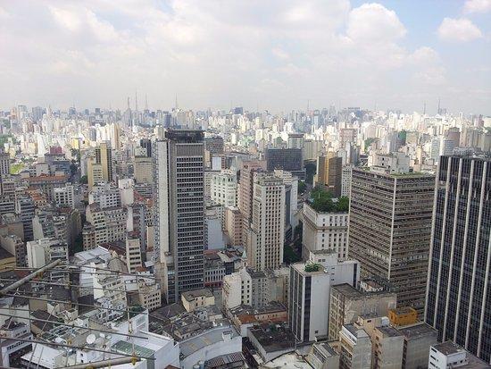 Banespa Building: Não é uma foto maravilhosa mas é da minha amada São Paulo!