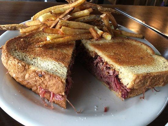 Corned Beef Sandwich. Booya