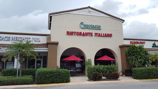 Capriccio S Italian Restaurant Naples North Naples Menu