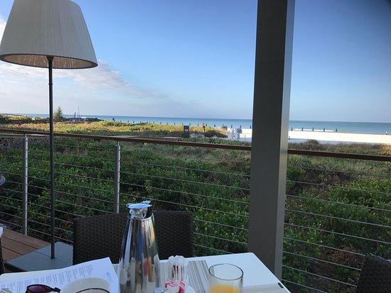 Hilton Marco Island Beach Resort A View Form The Restaurant