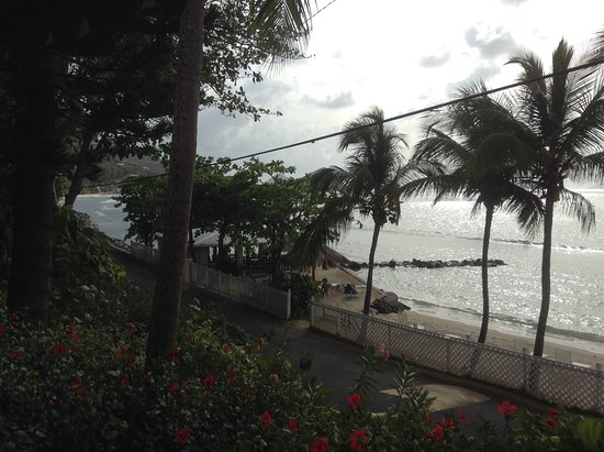 Sugar Mill Hotel: View from terrace