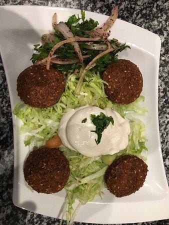 Gonesse, Francja: Un très bon sandwich de belles brochettes taouk des falafels la famille a bien mangé