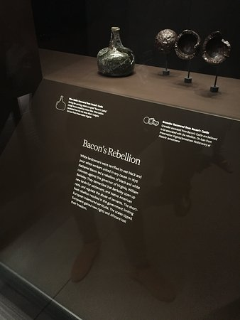 National Museum of African American History and Culture: Bacon's Rebellion