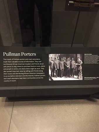 National Museum of African American History and Culture: Pullman Porters