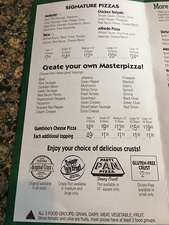 Andover, Канзас: Wide variety of great pizzas!