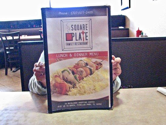 Square Plate Restaurant Menu & Menu - Picture of Square Plate Restaurant Pinellas Park - TripAdvisor