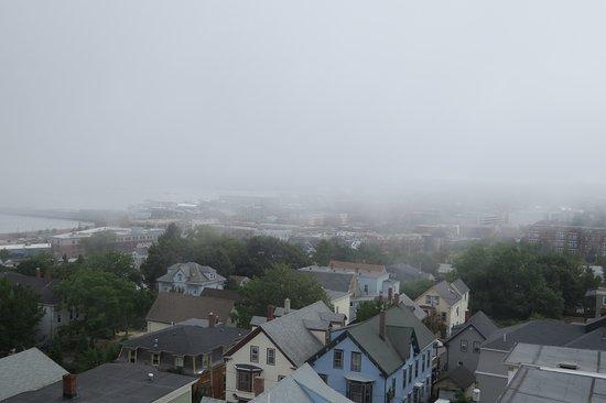 Portland Observatory : Fog coming in