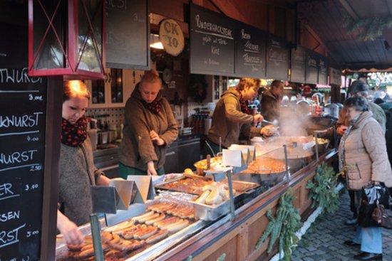 dresden christmas market foods