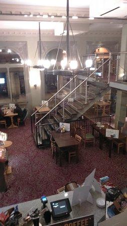 Sheffield Waterworks Company Lloyds no.1: View from the mezzanine