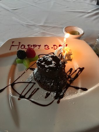 Remarkable Amazing Steak And A Birthday Cake Picture Of Asador La Vaca Funny Birthday Cards Online Inifofree Goldxyz