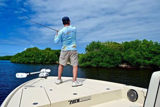 Port Charlotte, FL: Fishing the inshore waters of Charlotte Harbor can be lots of fun.