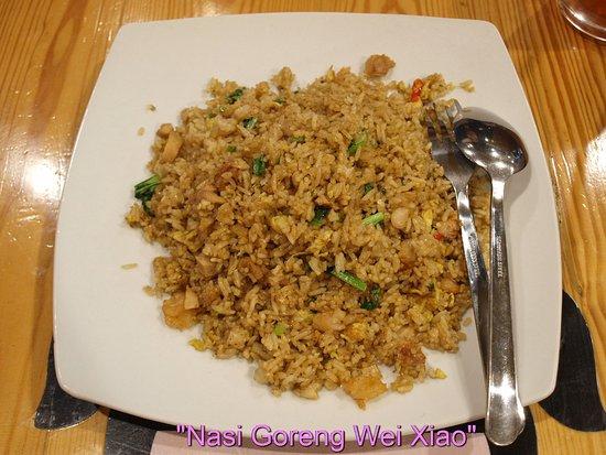East Java, Indonesia: Nasi goreng Wei Xiao
