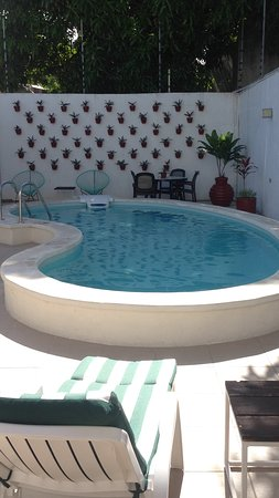 Moloch Hostel y Suites : Outside pool