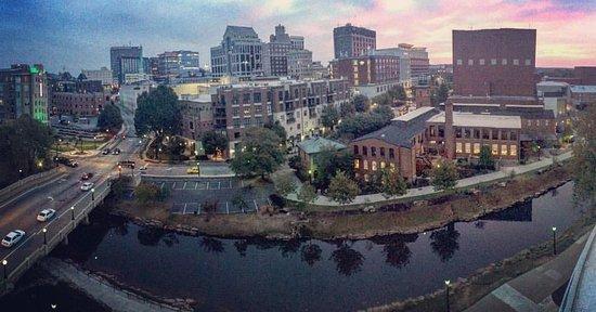 View from 601 Balcony Studio Suite