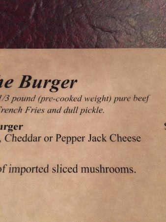 Dubuque Mining Company : on the burger, be sure to get a 'dull' pickle!