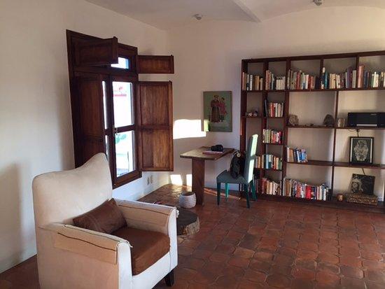 Casa Oaxaca: Lounge in the suite