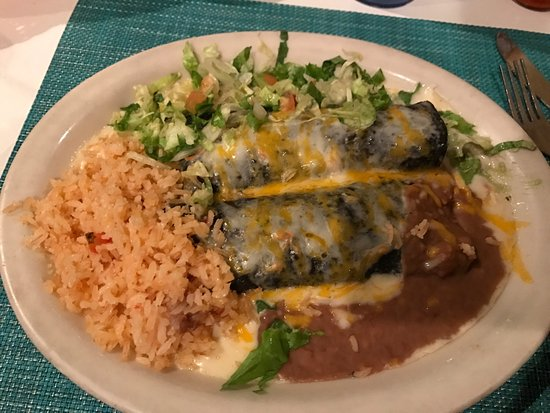 Fiesta's New Mexican Cafe: Blue Corn Enchiladas