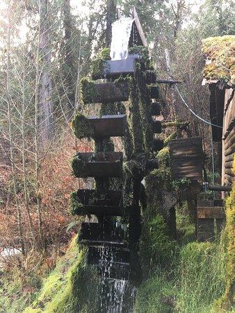 Union, WA: Historic Water Wheel