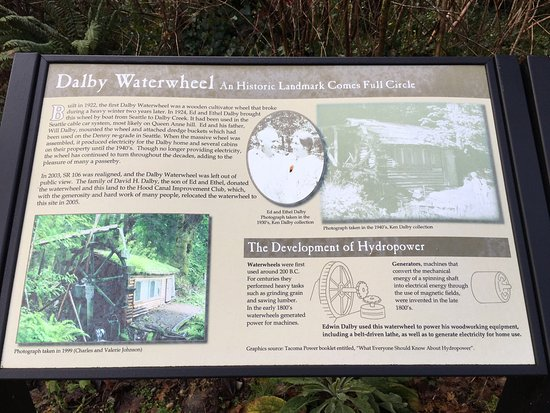 Union, WA: Historic Water Wheel