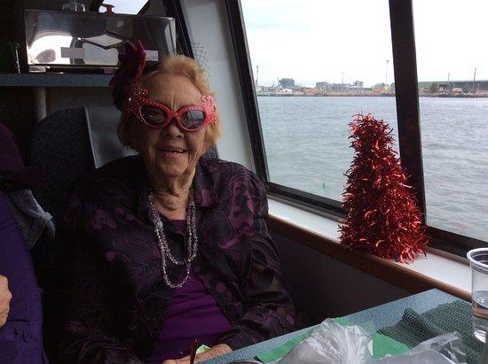 Nova Cruises : BERYL, 91 years old. Had a great time.