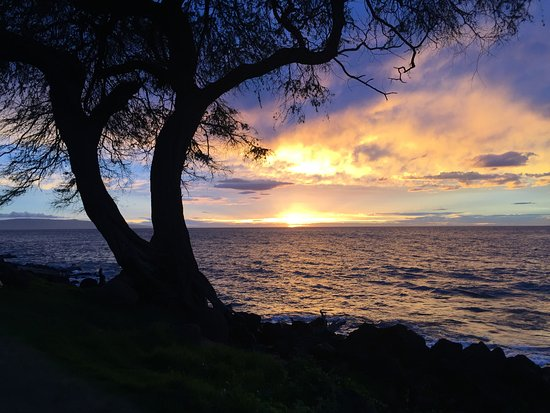 Kamaole Beach Park II: Sunset