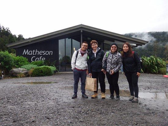 Matheson Cafe: Cafe Building